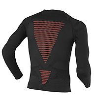X-Bionic Ski Touring Shirt L/S, Stone/Red