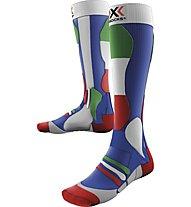 X-Socks Ski Patriot Calze da sci, Italy