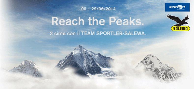 Reach the peaks